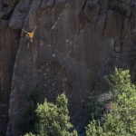 Escaladores de alto nivel disfrutan de escalada en el Bosque Mágico
