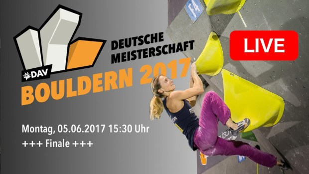 Video competencia: Campeonato Alemán Boulder 2017