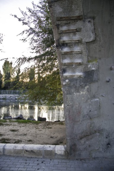 Rocódromo puente de los franceses