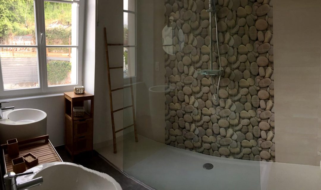 Salle d'eau chambre Bambou