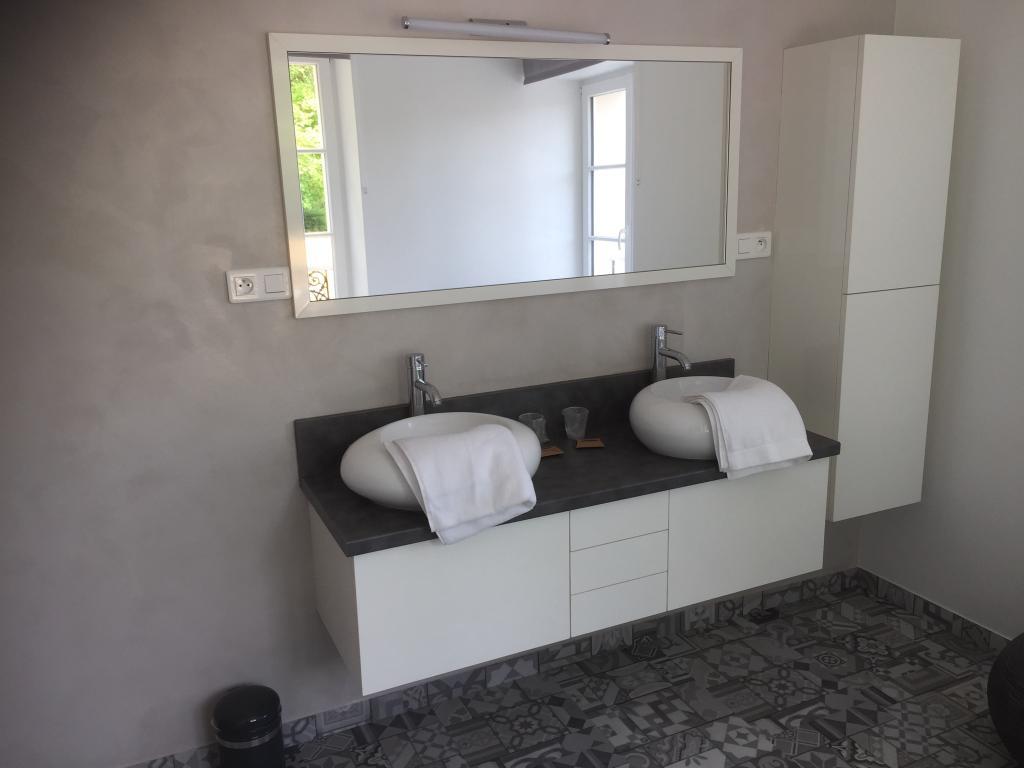 Salle de bain chambre Vague