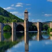 RégCahors, pont Valentré (tourisme cahors) - département du Lot en région Occitanie