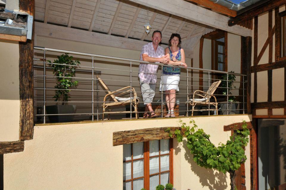 La Loge Vigneronne, Changy : vos hôtes
