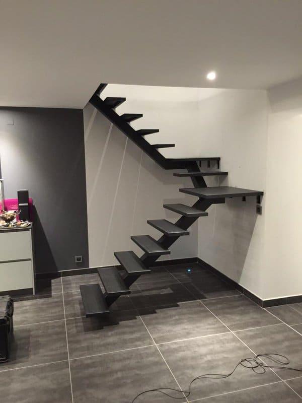 Nous Ralisons Votre Escalier Hlicodal Ou Limon Central