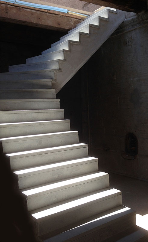 Escalier Beton Revetement Cheap Formidable Revetement