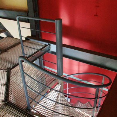 rampe débillardée