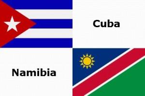 Cuba y Namibia establecieron relaciones diplomáticas el 21 de marzo de 1990.