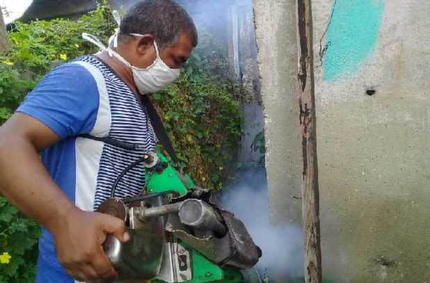 sancti spiritus, campaña antivectorial, dengue, mosquito aedes aegypti, fumigacion