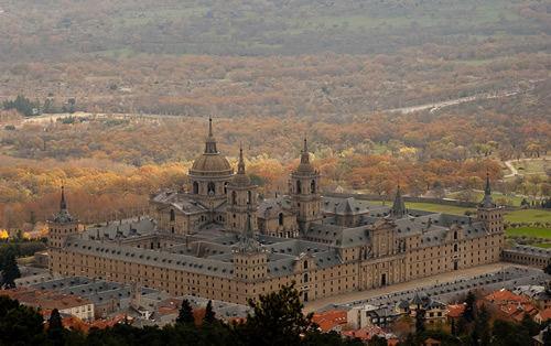 San Lorenzo del Escorial desde el Monte Abantos