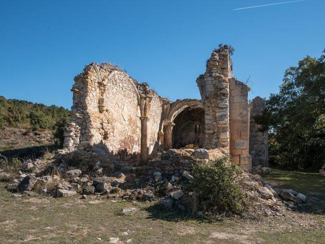Pueblo abandonado de Ochate