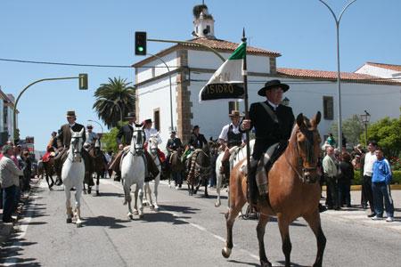 Un paseo por la romería de San Isidro en Valencia de Alcántara