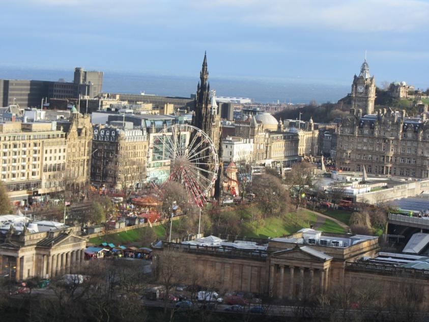 Edimbourg, Ecosse - Le tourisme en Ecosse : statistiques