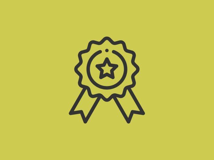 medalla de premio
