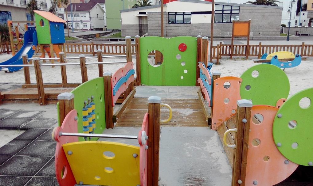 Parque infantil en Laxe