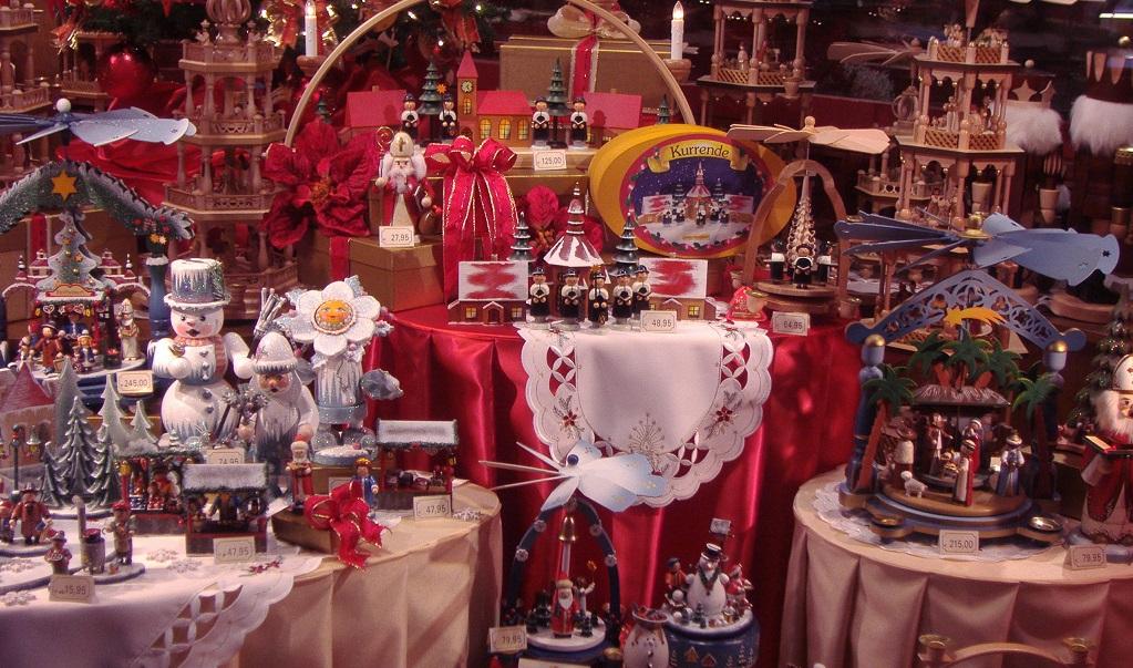 mercadillos navideños europeos con niños