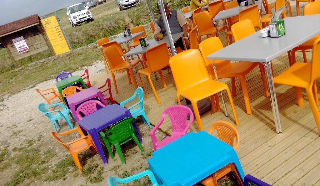 Cafeterías con parque infantil exterior