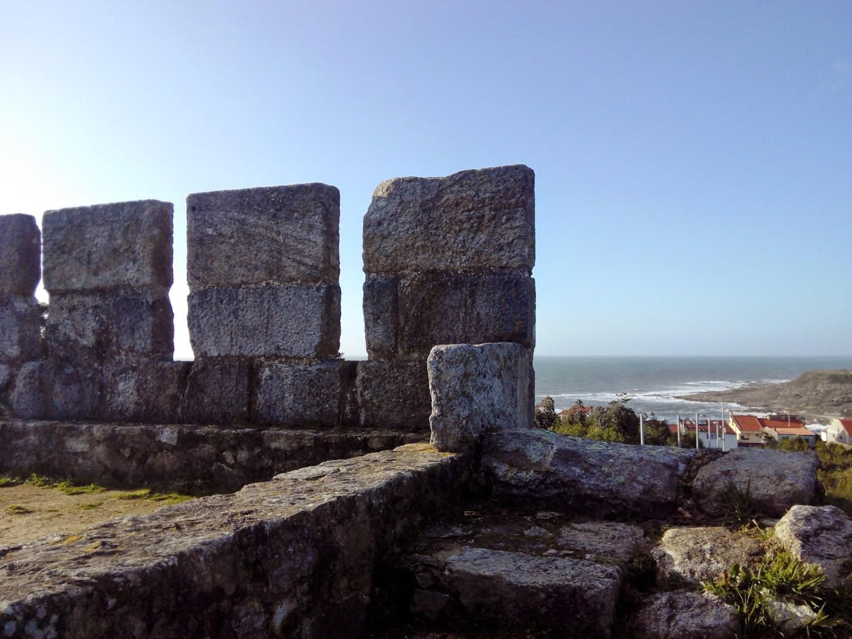 El Castillo de Santa Cruz (A Guarda), con niños
