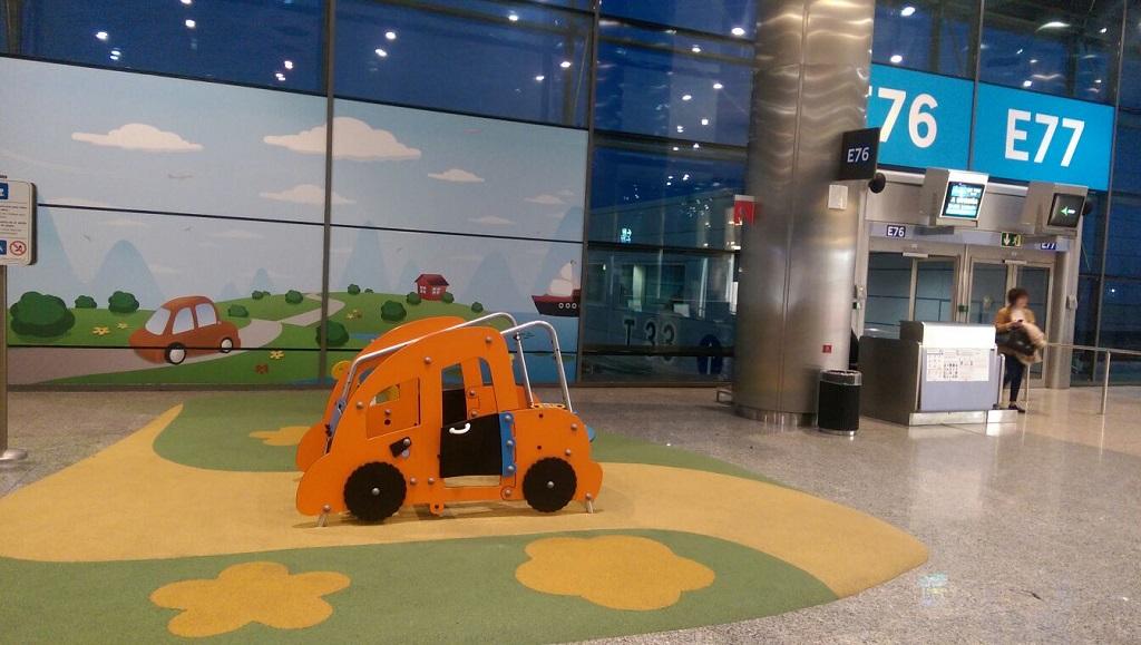 Aeropuertos con parque infantil o ludoteca