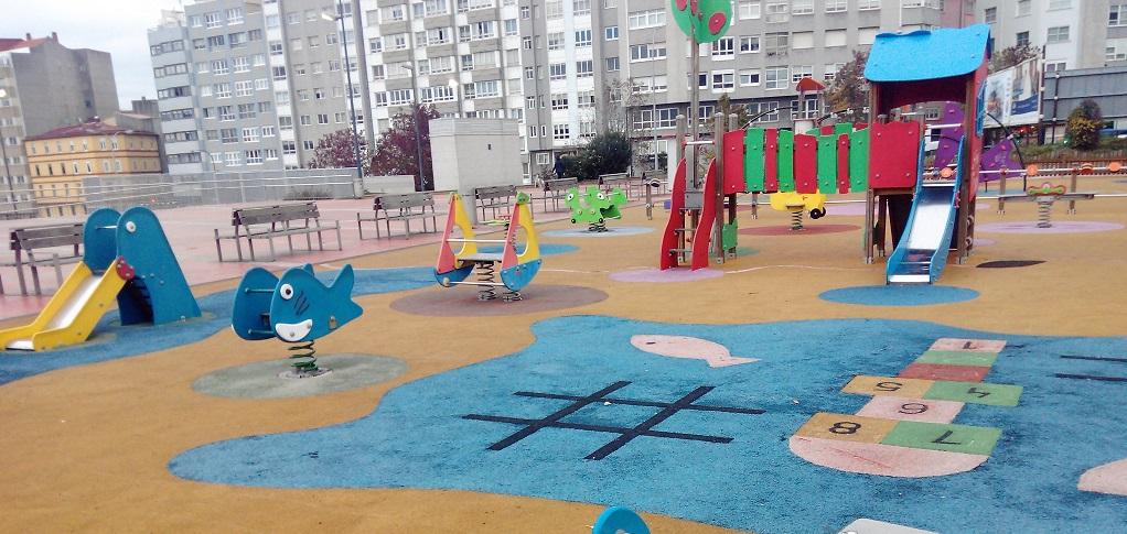 El Parque Infantil de Os Mariñeiros en A Coruña