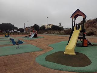 El parque infantil de San Pedro de Visma (A Coruña)