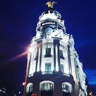 El centro histórico de Madrid, con niños