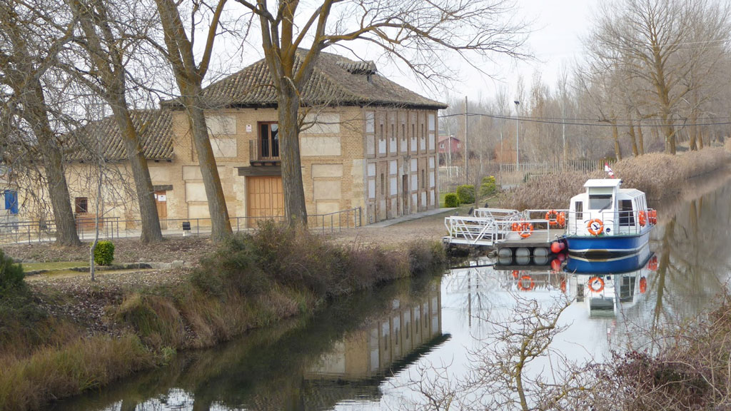 La ciudad del canal: Palencia, con niños
