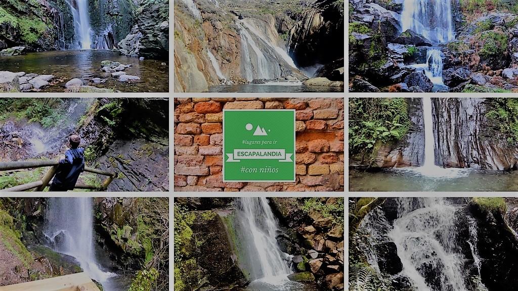 Ocho cascadas en Galicia para ir con niños