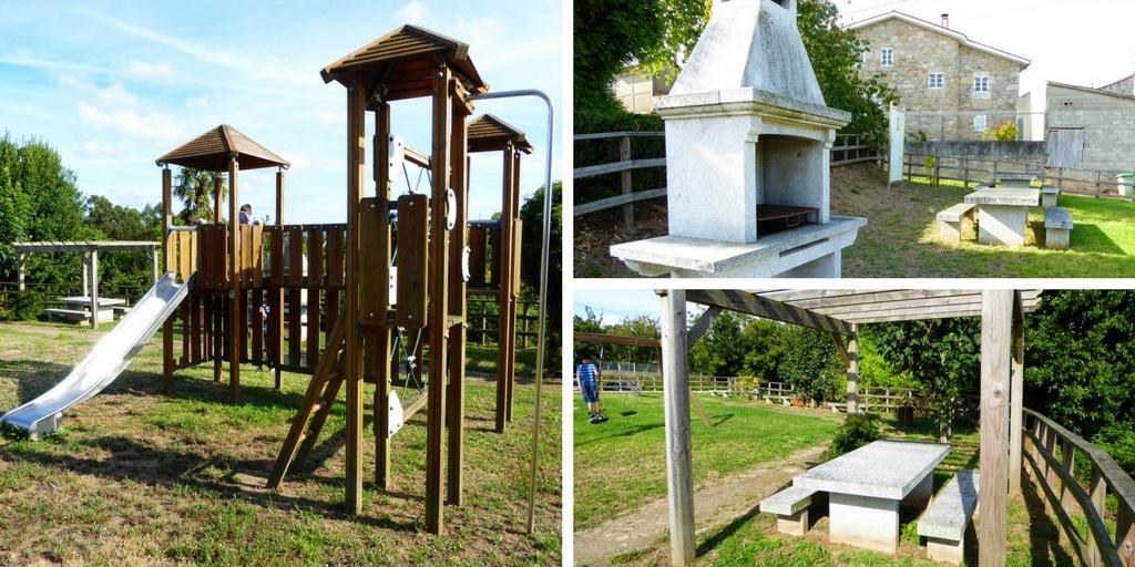 Parque infantil del Mandeo en Medín