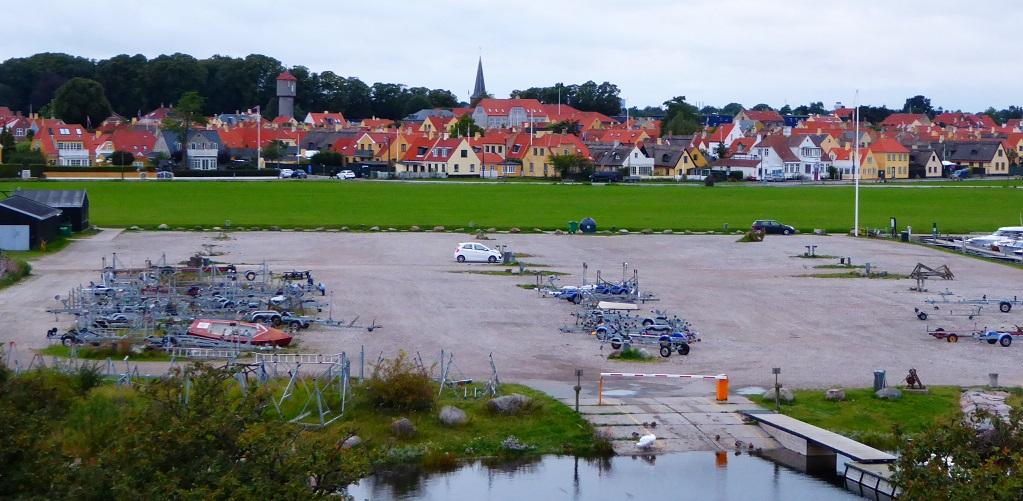 Un pueblo pesquero danés con niños: Dragør