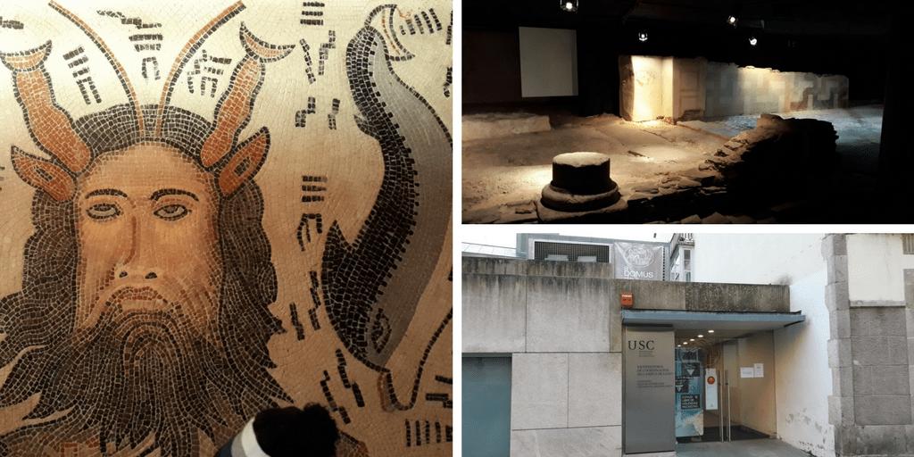 Visitando el subsuelo romano de Lugo, con niños