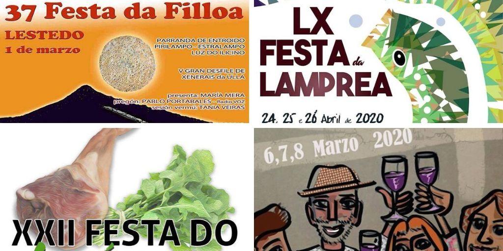 Marzo en Galicia: próximas fiestas gastronómicas