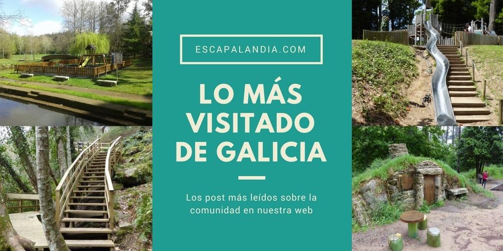 Lo más visitado de Galicia en Escapalandia