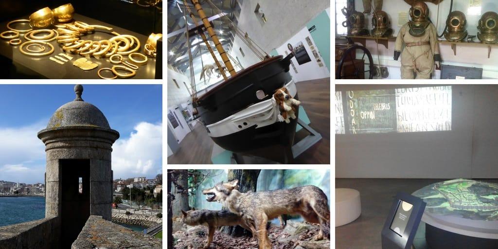 Siete museos de Galicia en siete ciudades