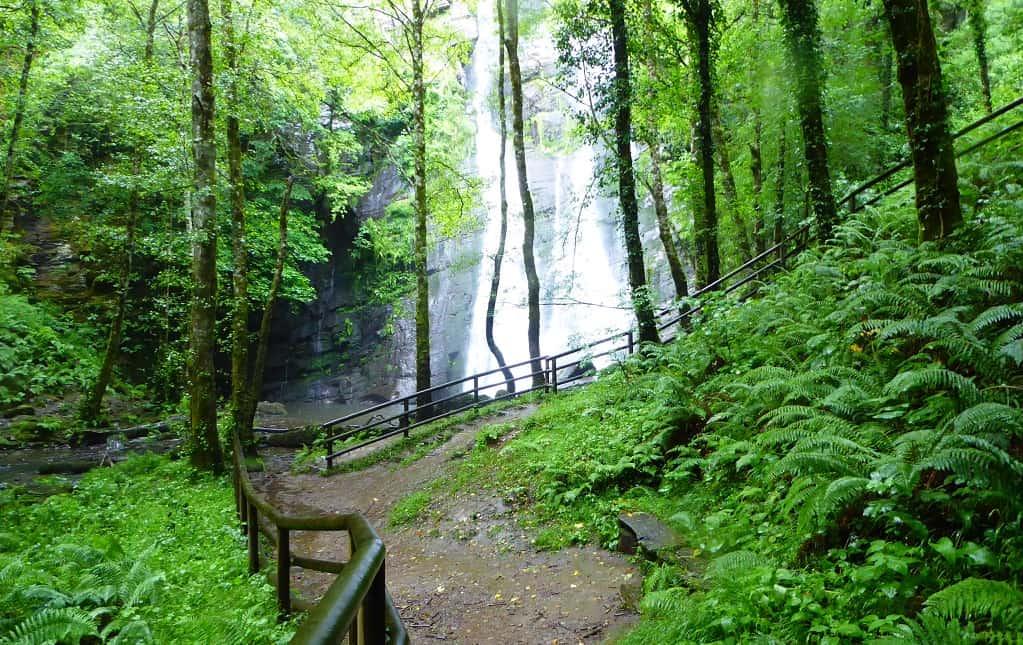 La cascada más grande de Galicia: Seimeira de Vilagocende