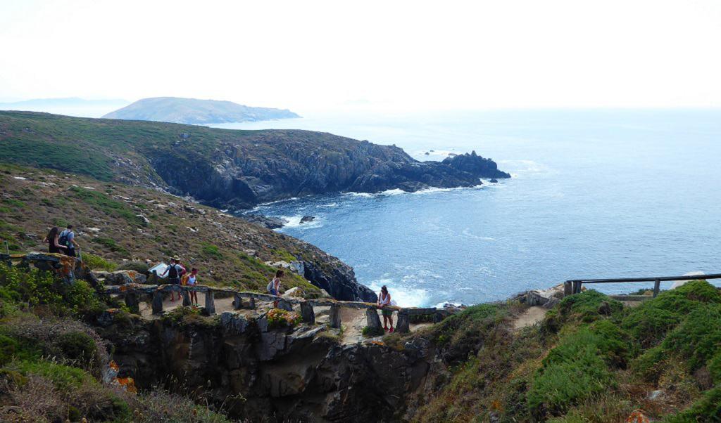 Illas Atlánticas de Galicia con niños con niños