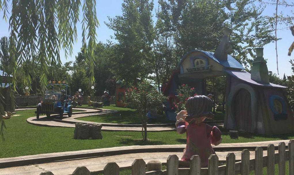 Parque Torrejón de Ardoz con niños