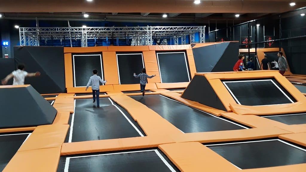 Parques de trampolines en Galicia