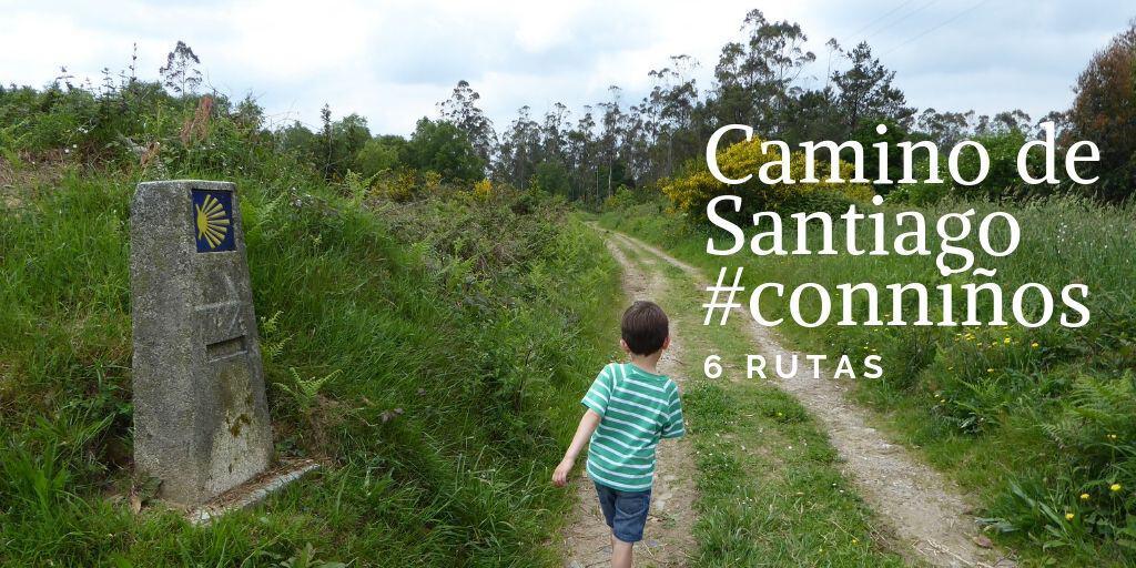 El Camino de Santiago con niños en seis rutas
