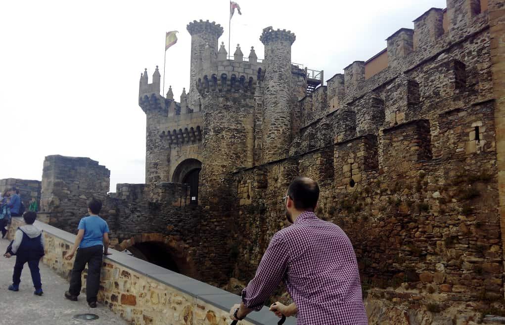 Castillos para ir con niños Ponferrada