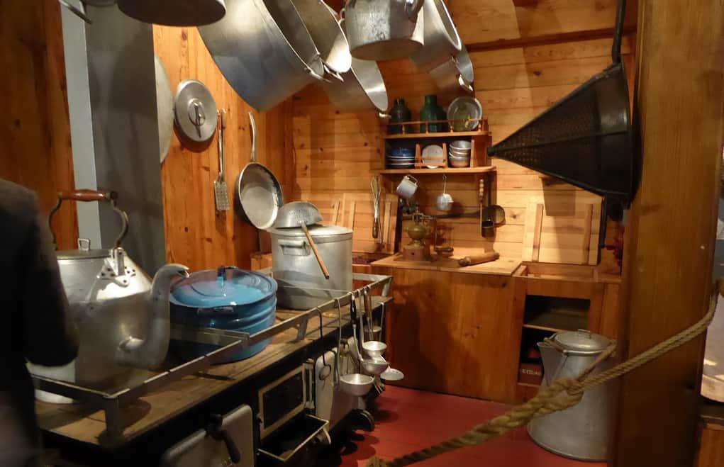 El Museo Marítimo de Ílhavo cocina