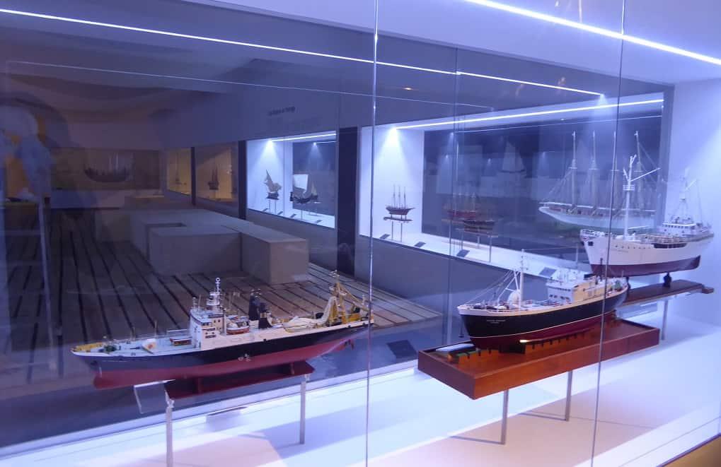 El Museo Marítimo de Ílhavo maquetas