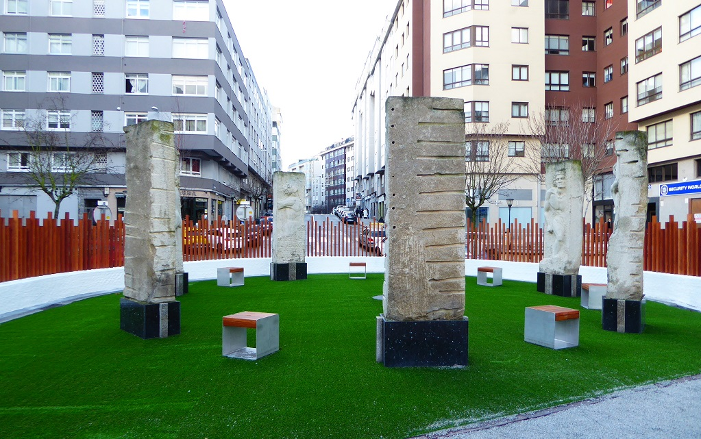 parque infantil de Plaza da Concordia