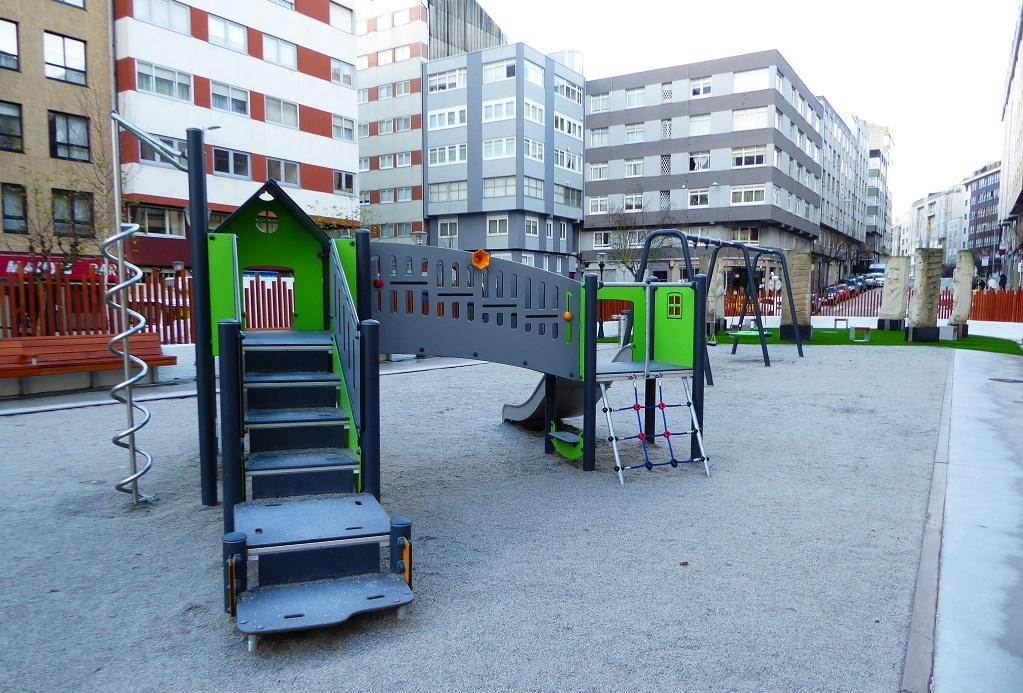 Plaza de la Concordia A Coruña