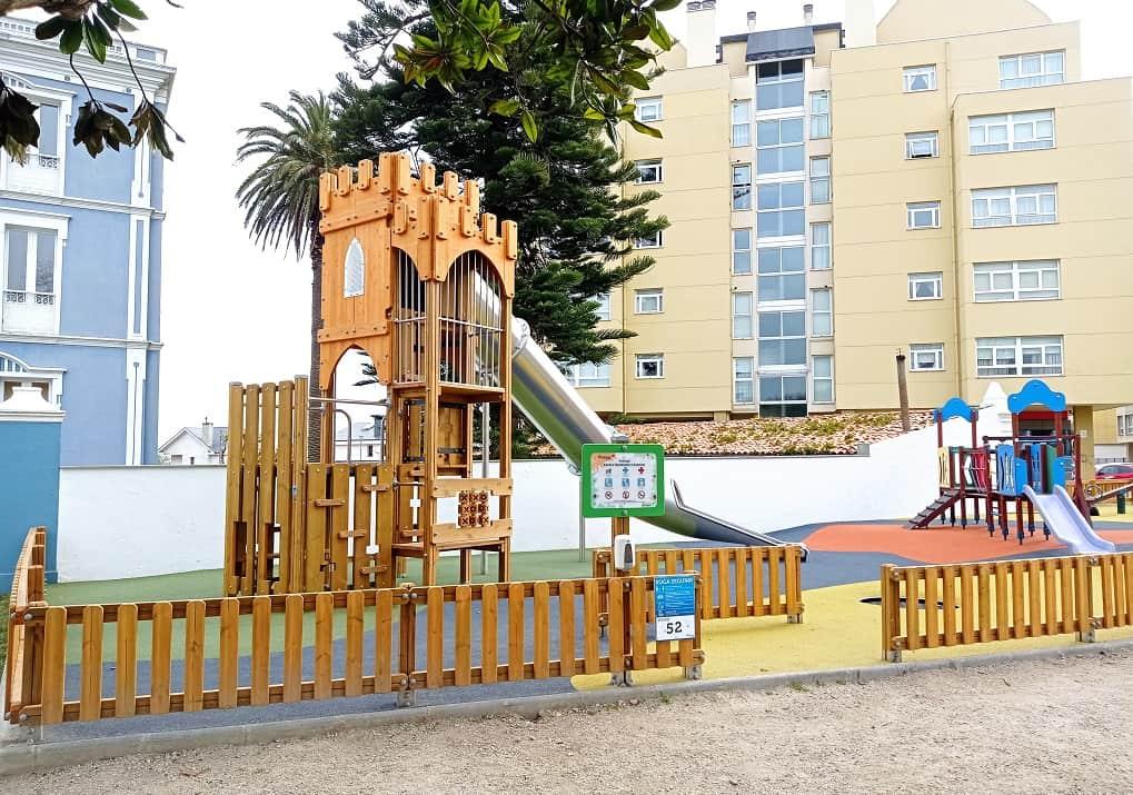 mejores parques infantiles de Galicia Ribadeo