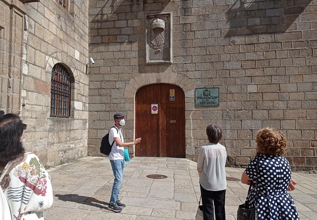 De visita guiada por A Coruña ciudad