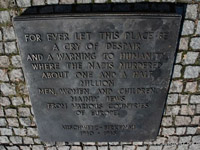 Auschwitz never forget