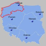 North-West Poland Map