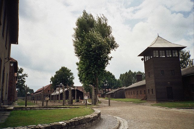 Virtual auschwitz walk