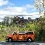 Upstate New York haunted house campervan