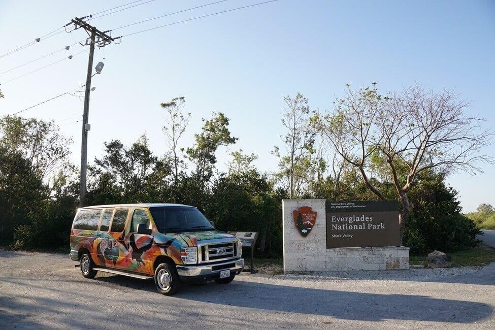 Everglades National Park Sign Florida